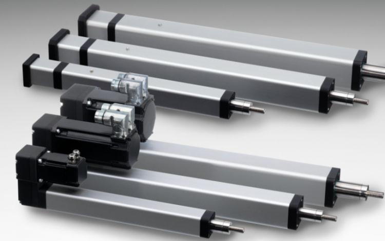 Kompaktowe siłowniki elektryczne serii PC THOMSON