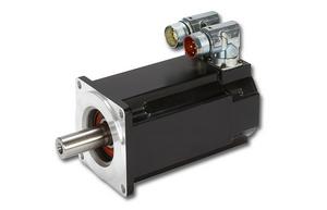 Synchroniczny silnik serwo (serwonapęd) serii AKM marki Kollmorgen o szerokiej gamie momentów obrotowych.