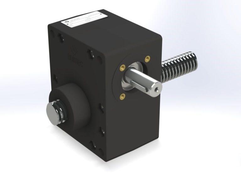Dźwignik śrubowy z technopolimeru Unimec - seria Aleph